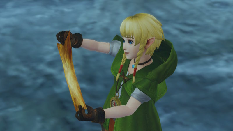 Hyrule Warriors Definitive Edition - Linkle paumée