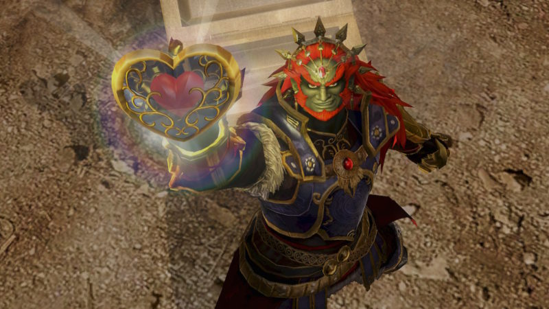 Hyrule Warriors Definitive Edition - Ganondorf fragment de réceptacle