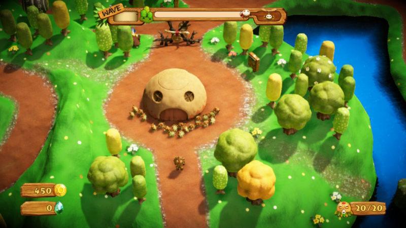 PixelJunk Monsters 2 - départ du village