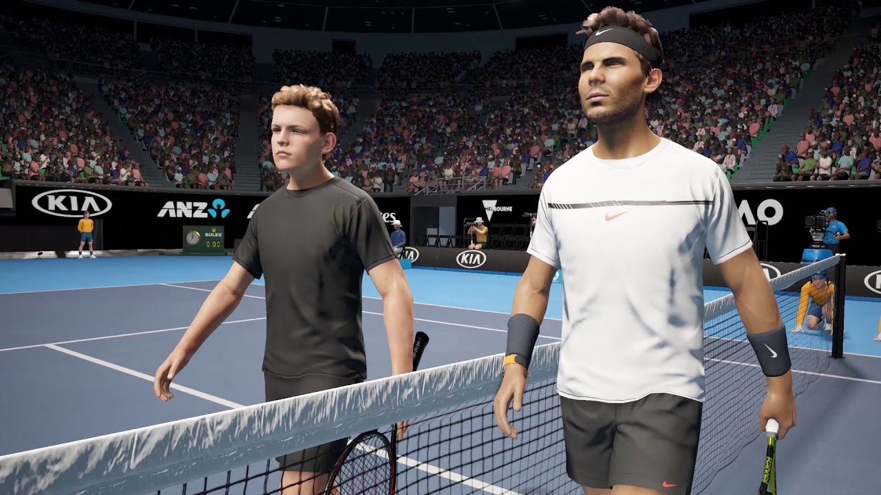 AO International Tennis Nadal