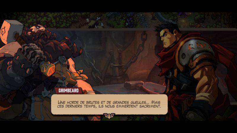 Battle Chasers: Nightwar - Dialogue