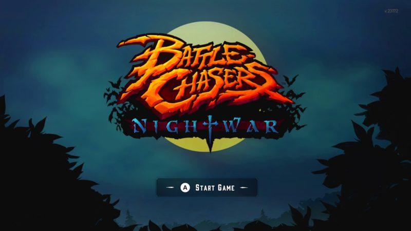 Battle Chasers: Nightwar - Ecran titre