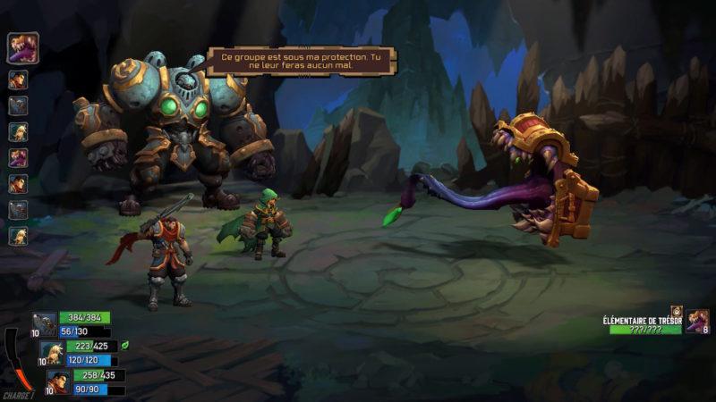 Battle Chasers: Nightwar - Mimique