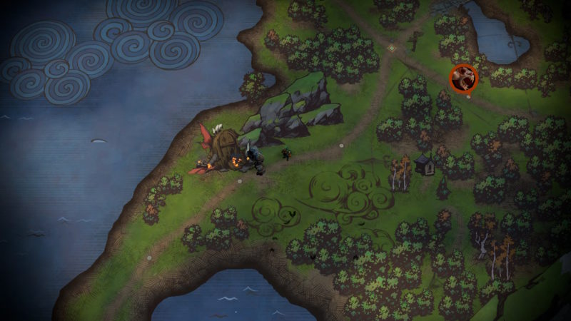 Battle Chasers: Nightwar - Overworld