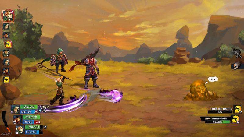 Battle Chasers: Nightwar - Swing
