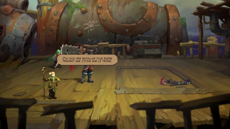 Battle Chasers: Nightwar - il dit ce que je pense ?