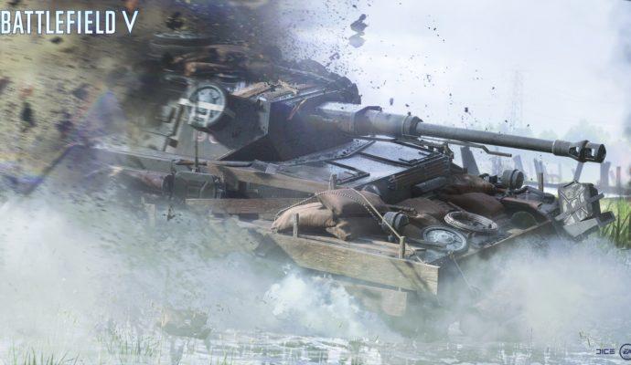 Battlefield V Char d'assaut