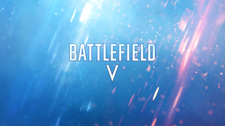 Battlefield V logo officiel