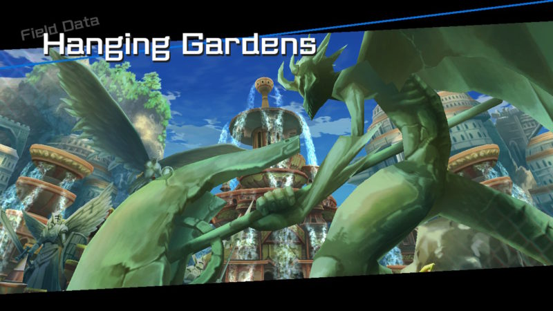 BlazBlue: Cross Tag Battle - Hanging Gardens