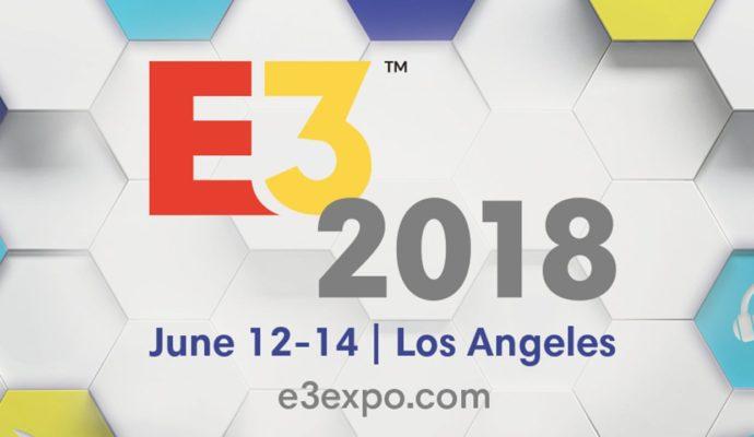 E3 2018 logo et date
