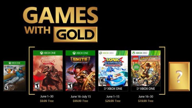 Games with Gold mois de juin