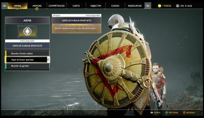 God of War - Récompenses du mode extrème