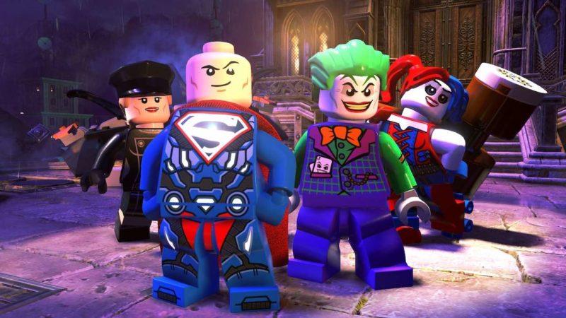 Lego DC Super-Vilains Joker, Super Luthor, Harley