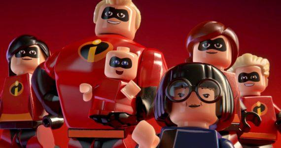 Lego Les Indestructibles portrait de famille