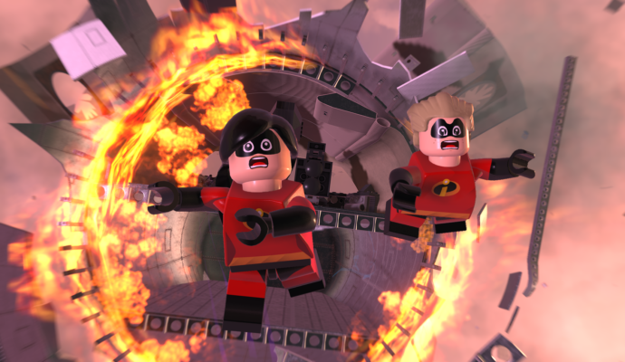 LEGO Les Indestructibles explosion