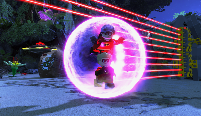 LEGO Les Indestructibles champ de force