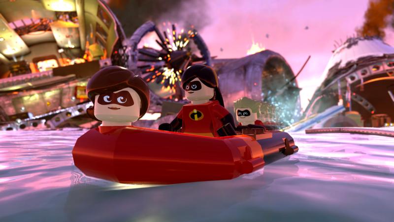 LEGO Les Indestructibles bateau