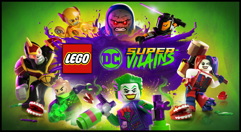 Lego DC Super-Vilains Key art