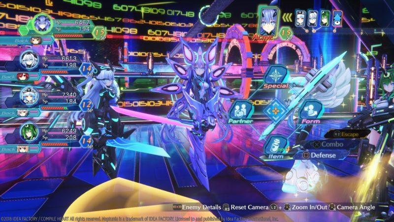 Megadimension Neptunia VIIR transformation