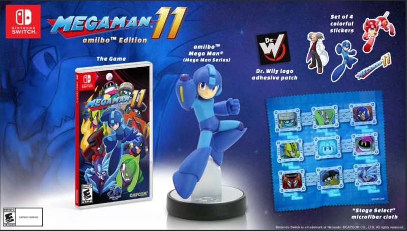 Megaman 11 - Gamestop Collector