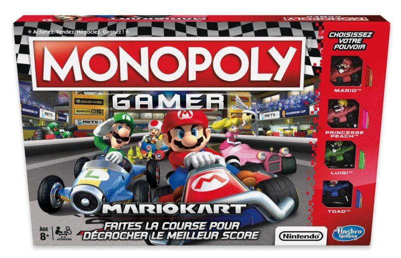 Monopoly Gamer : Mario Kart - la boîte