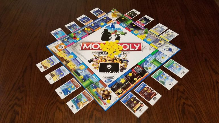 Monopoly Gamer : Mario Kart - le plateau