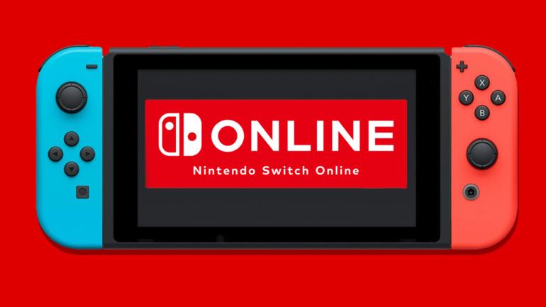 Nintendo Switch Online Bannière
