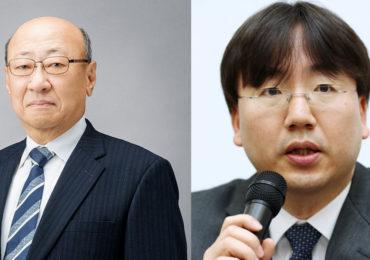 Nintendo - présidents sortant et entrant