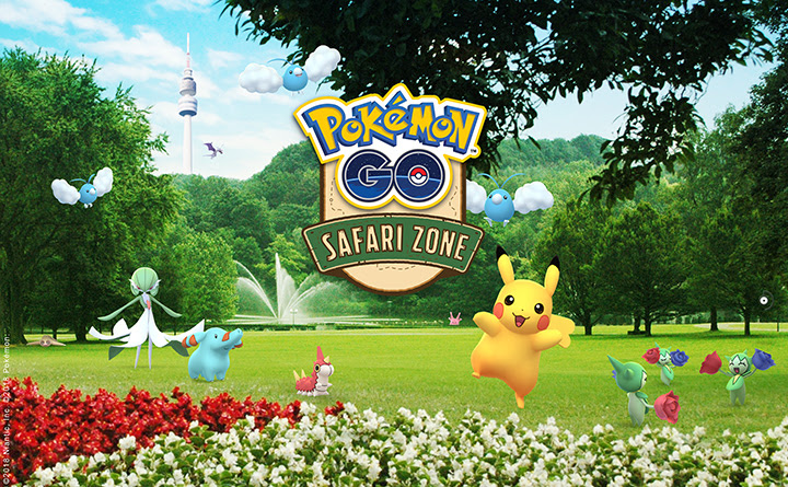 Pokémon GO - Safari Zone Dortmund