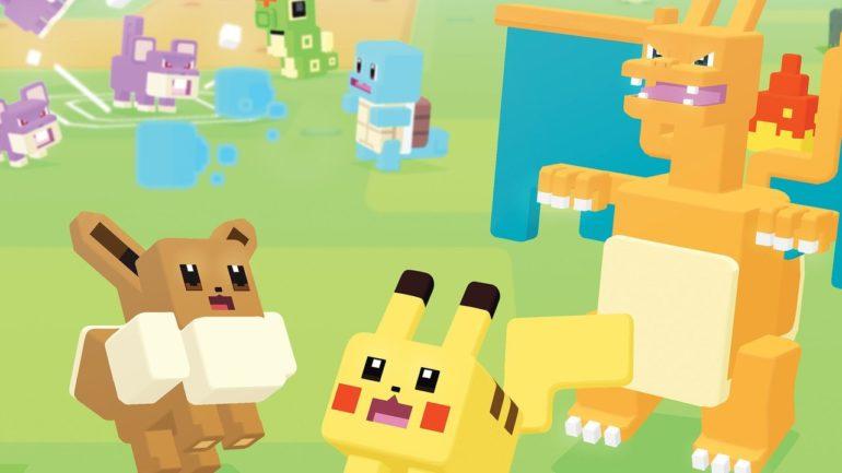Pokémon Quest - des Pokémon en boîte