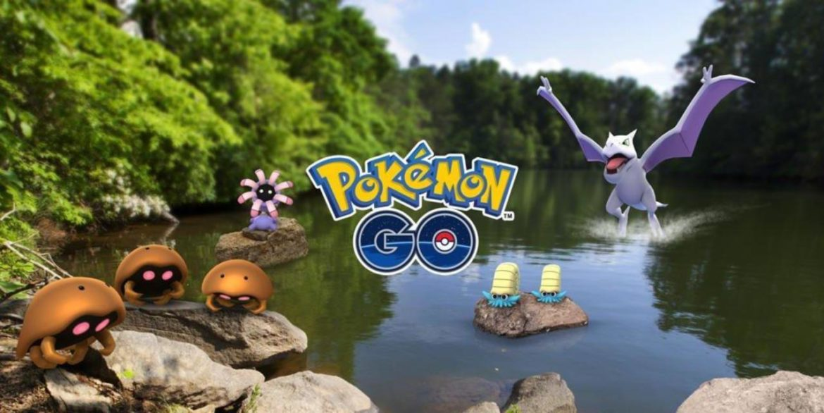 Pokémon Go - artwork semaine aventure