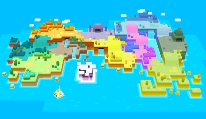 Pokémon Quest - World Map