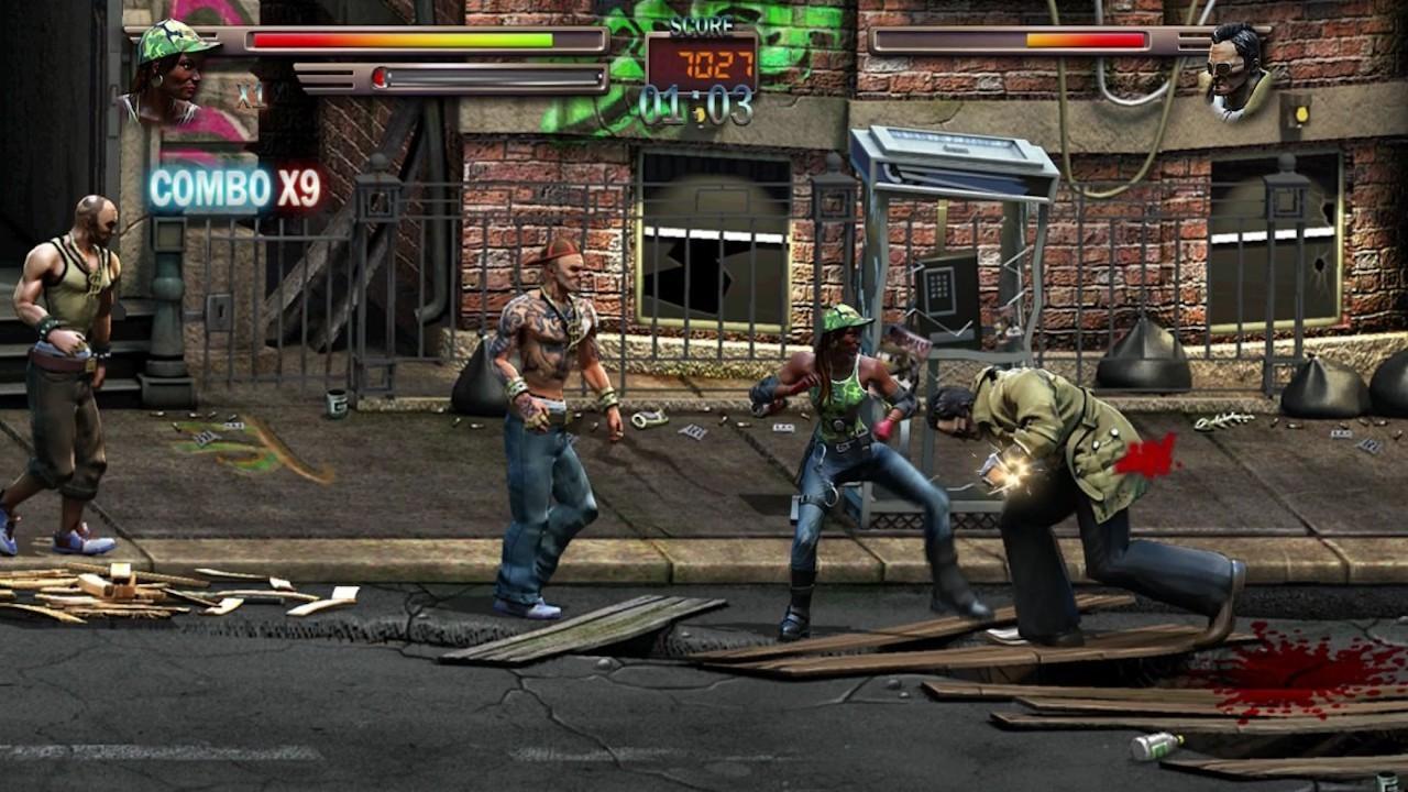 Raging Justice rue