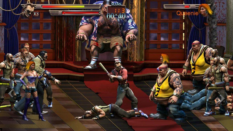 Raging Justice combat