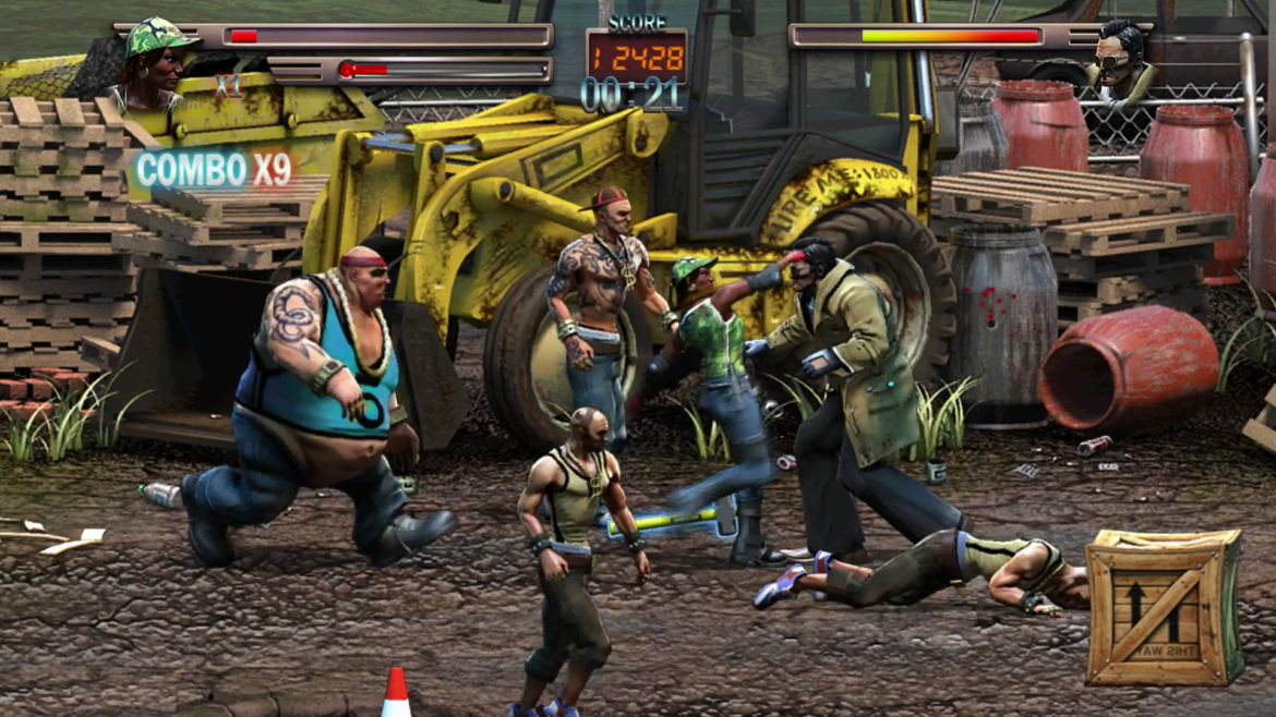 Raging Justice chantier