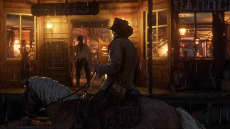 Red Dead Redemption II saloon