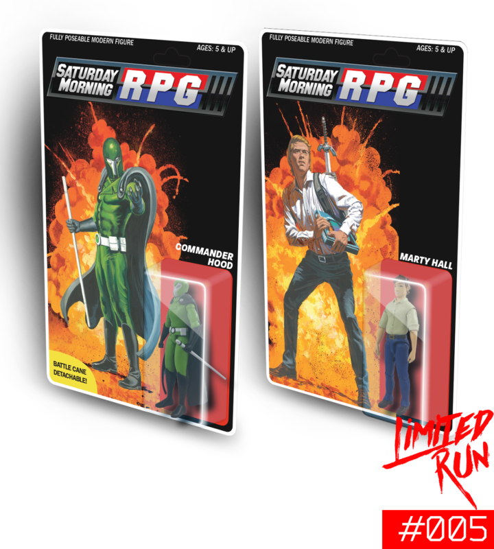 Saturday Morning RPG - Collector pack figurines articulées