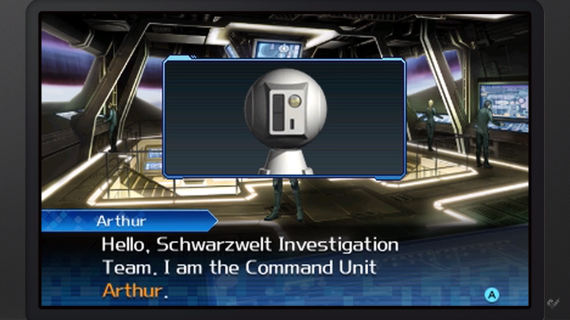 Shin Megami Tensei: Strange Journey Redux - Arthur le robot
