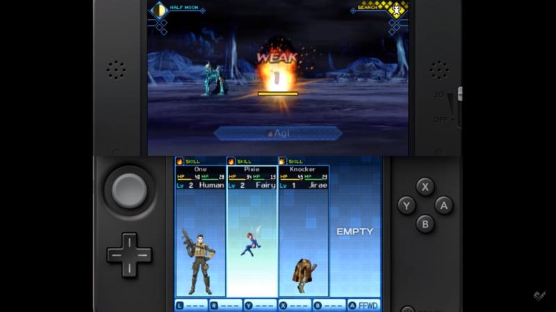 Shin Megami Tensei: Strange Journey Redux - Combat