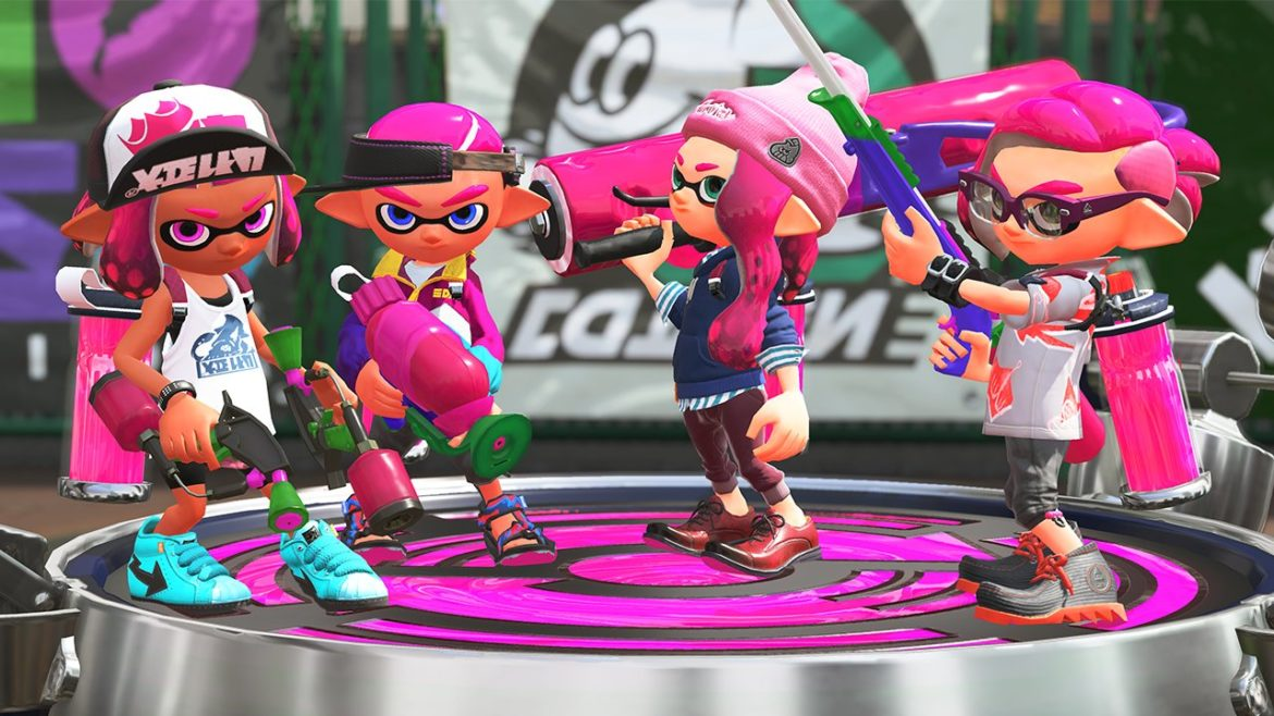 Splatoon 2 - Face-off