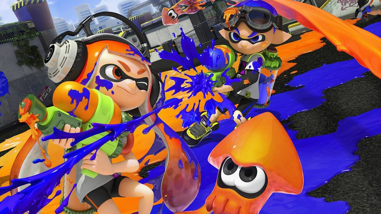 Splatoon - artwork bataille