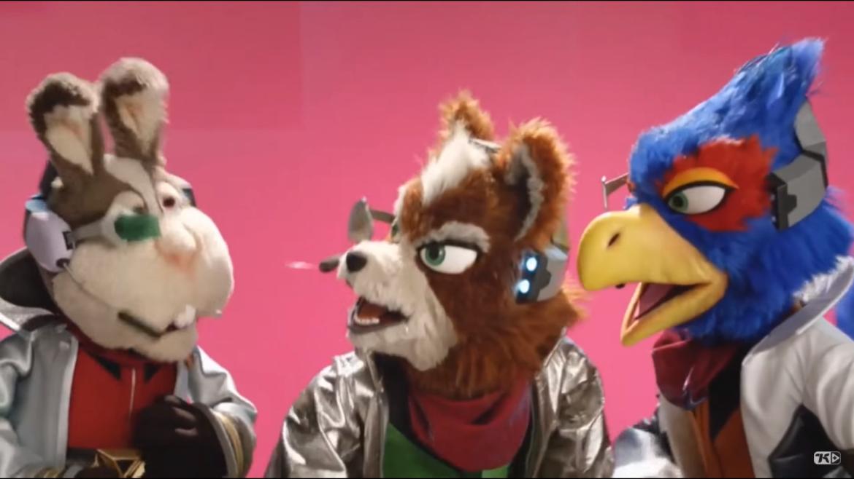 Star Fox: Grand Prix - à peluche