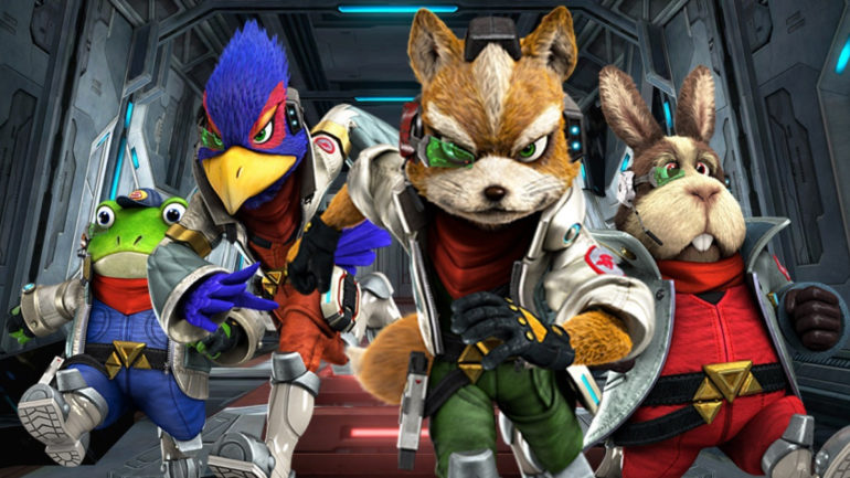Star Fox: Grand Prix - Running into action