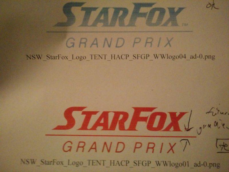 Star Fox: Grand Prix - la fuite