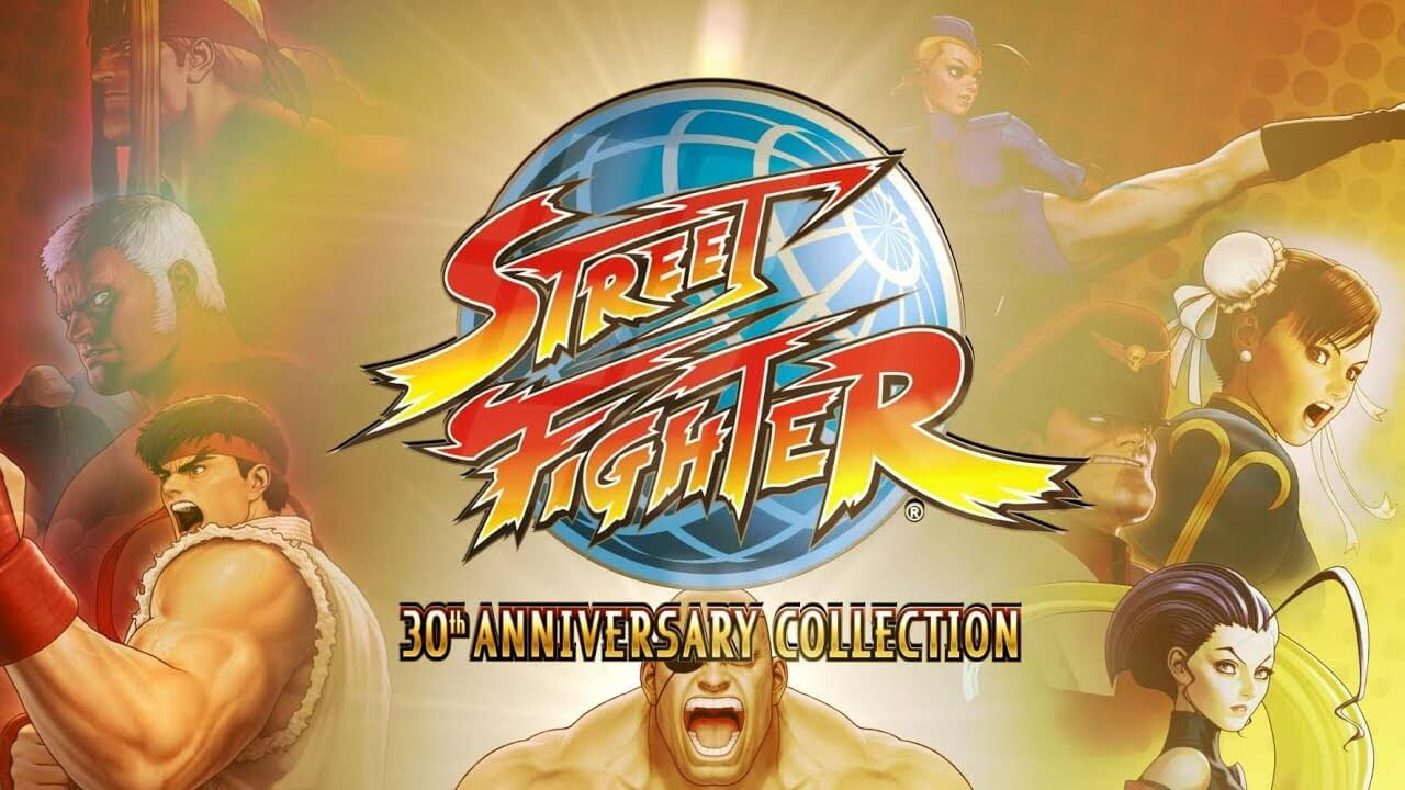 Street Fighter 30th Anniversary Collection logo titre