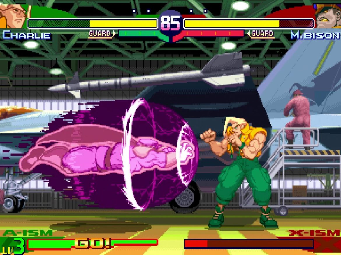 Street Fighter 30th Anniversary Collection Bison Charlie