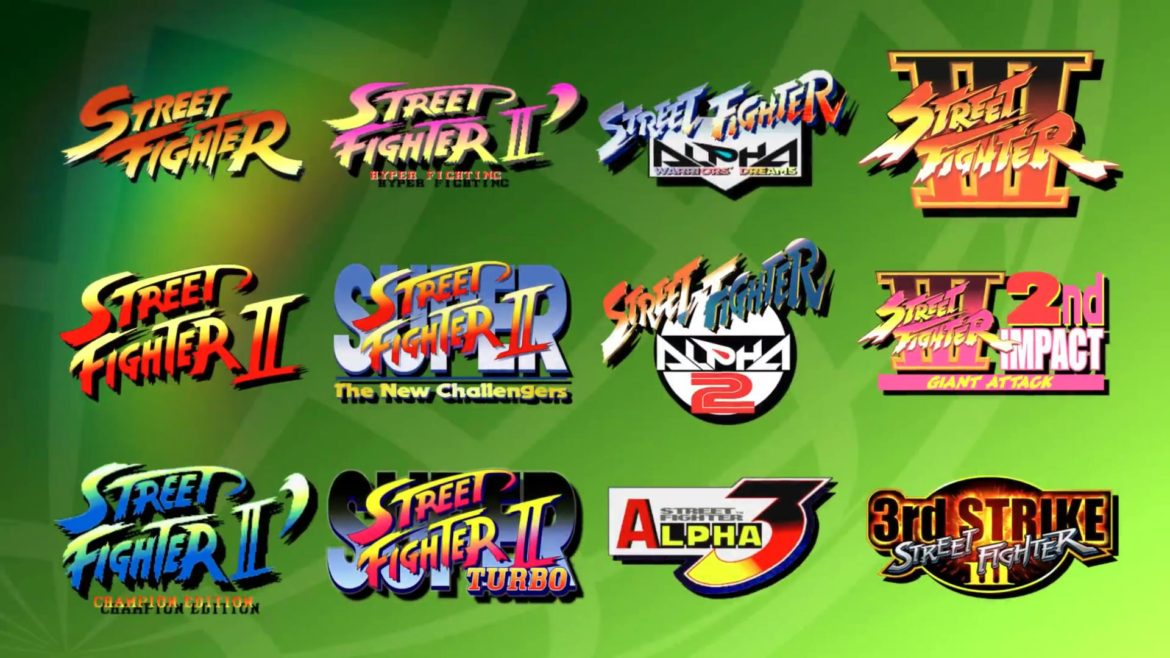 Street Fighter 30th Anniversary Collection liste des jeux