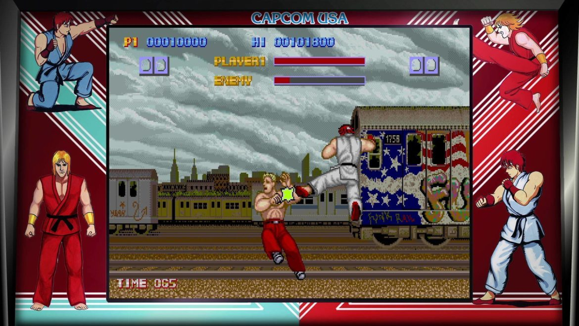 Street Fighter 30th Anniversary Collection premier épisode