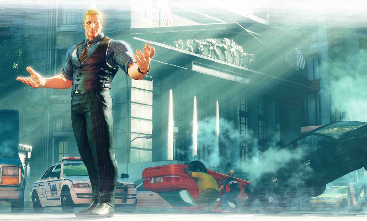 Street Fighter V: Arcade Edition Key Art Cody