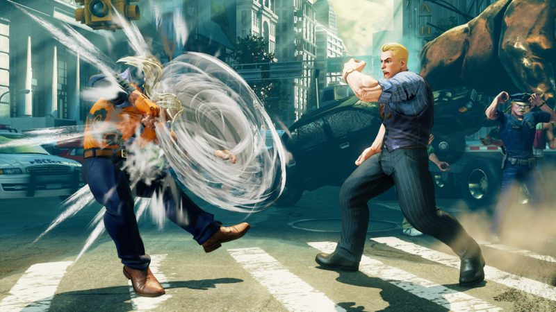 Street Fighter V: Arcade Edition Cody et son poing tornade